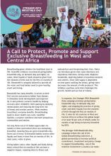 A Call to Protect, Promote and Support Exclusive Breastfeeding in West and Central Africa